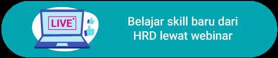 Belajar skill baru dari HRD lewat webinar